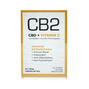 CBD and vitamin c capsules