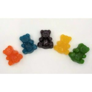 kush kitchen large gummie bears with 250 mg thc