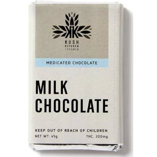 kush kitchen milk chocolate 200 ml