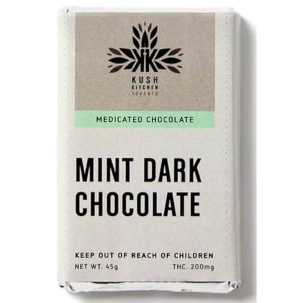 kush kitchen mint dark chocolate