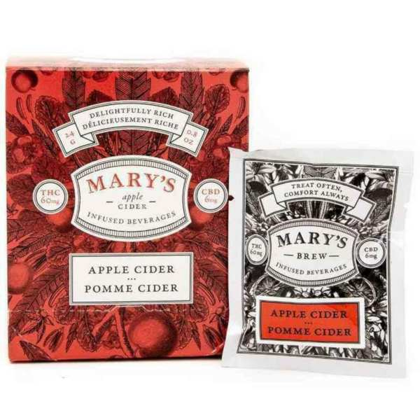 mary's wellness apple cider