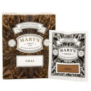 mary's wellness chai tea infused