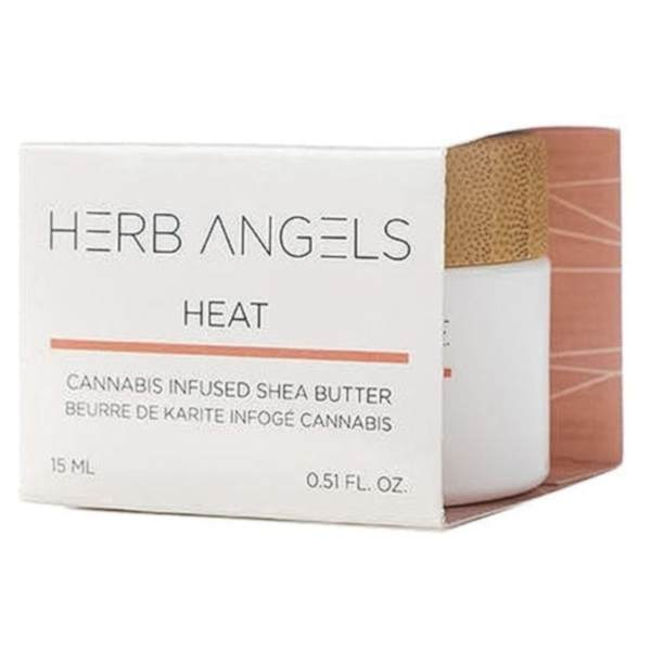 shea infused heat balm