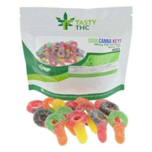 sour canna keys gummies