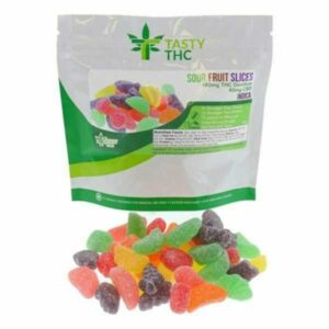 sour fruit slices gummies