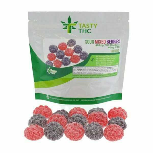 sour mixed berries gummies