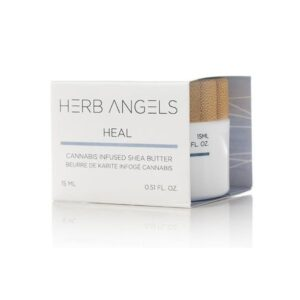 herb angels heal shea butter balm 15 ml