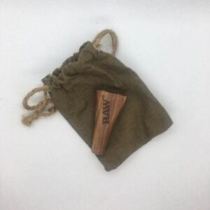 RAW wooden cigarette holder - 2 cigarette size